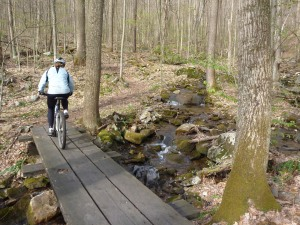 Riding Sugar Run Trail