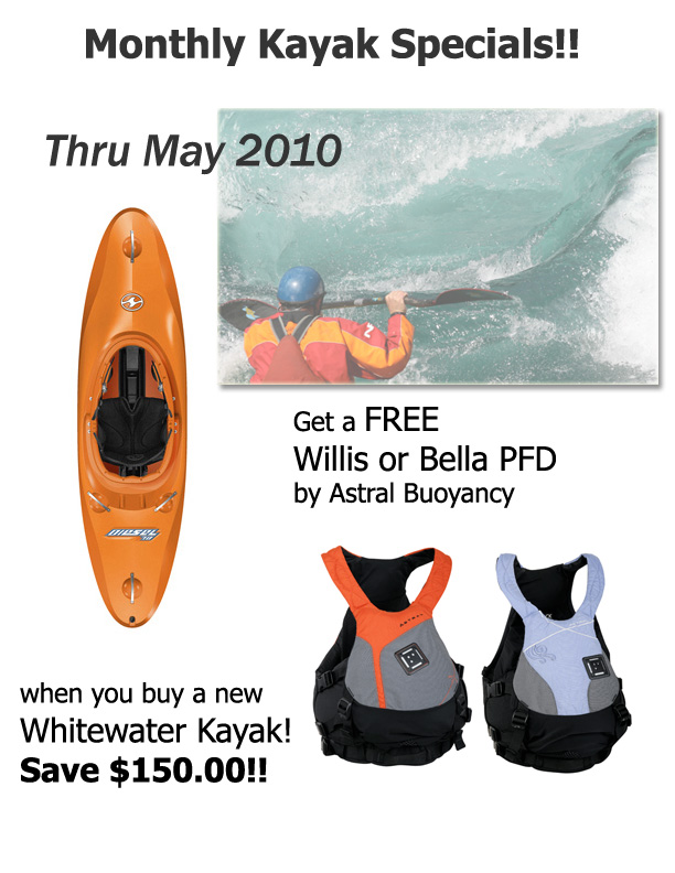 May 2010 Kayak Special