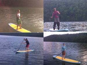 Standup Paddling at Yough Lake