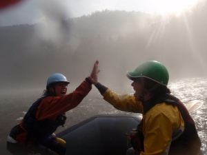 """Cheat River rafting trip"""