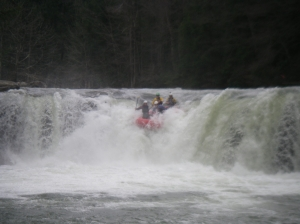 "Big Sandy Falls, ""West Virginia Whitewater"""