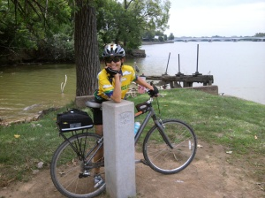 Mile 0 of the C & O Canal Towpath