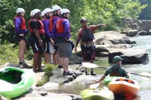 Ohiopyle kayak instruction wilderness voyageurs