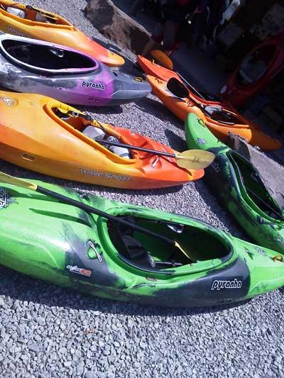 Ohiopyle kayaks wilderness voyageurs
