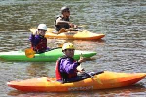 Kayaking in Ohiopyle wilderness voyageurs