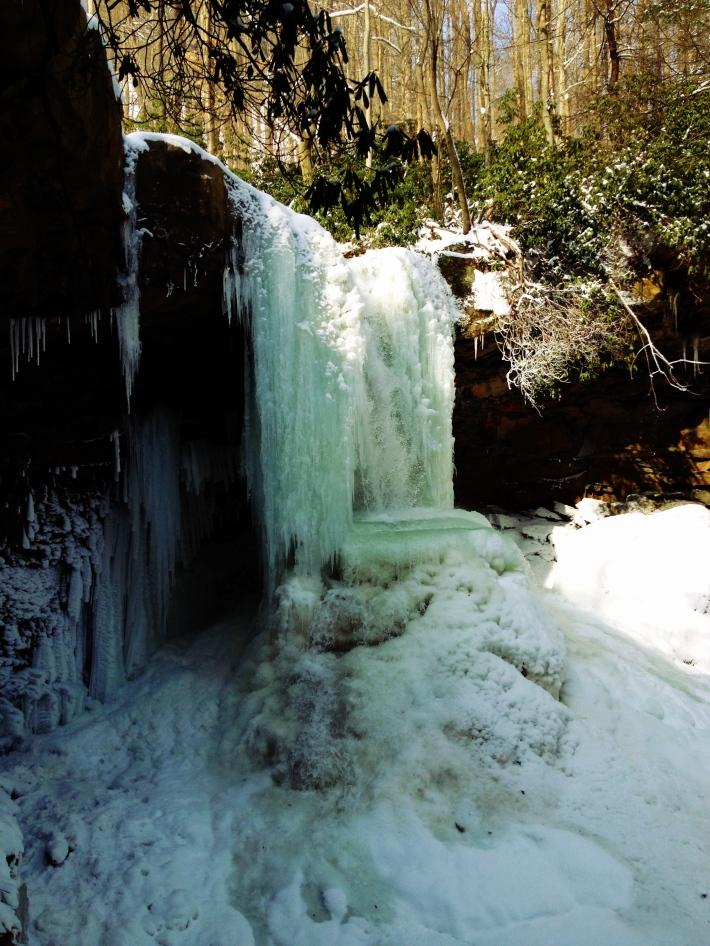 Frozen Cumber Falls