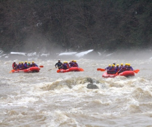 Ohiopyle spring rafting wilderness voyageurs