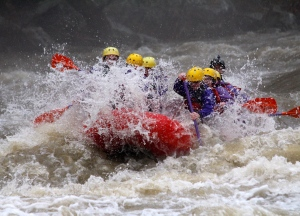 Whitewater rafting ohiopyle cucumber splash